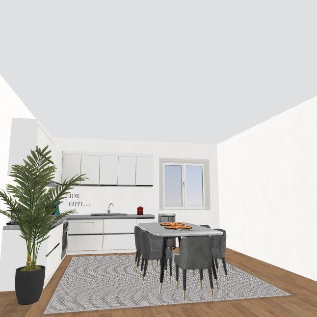Dream Dorm Interior Design Render