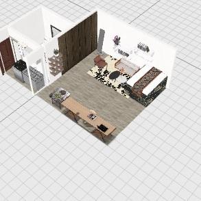 appartement config n°1 Interior Design Render