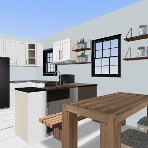 K/D/L  Interior Design Render
