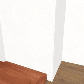 podkroví Interior Design Render