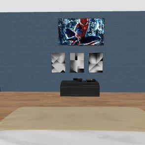 ryans bedroom Interior Design Render