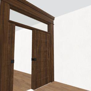 baby yoda wall paper Interior Design Render