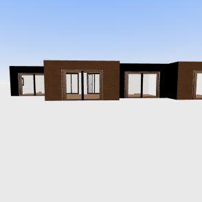 143 Golden Road - Natalie & Jason Crane Interior Design Render