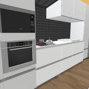 casa barato Interior Design Render