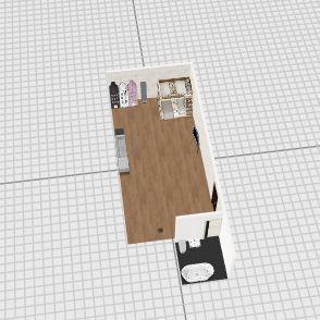 김미주 집 Interior Design Render