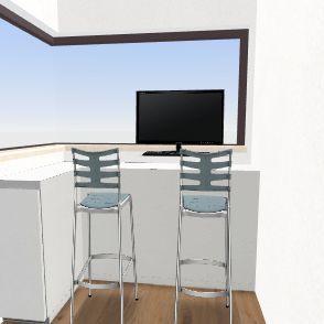 controlezaal ovenman huidige rustplaats Interior Design Render