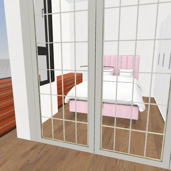 33366_bed_on_right_one_door Interior Design Render