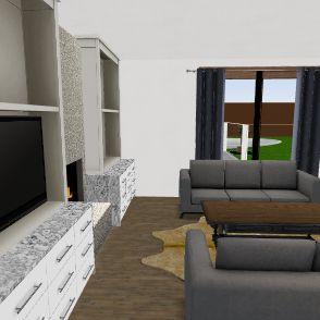 smallest front garage no office Interior Design Render