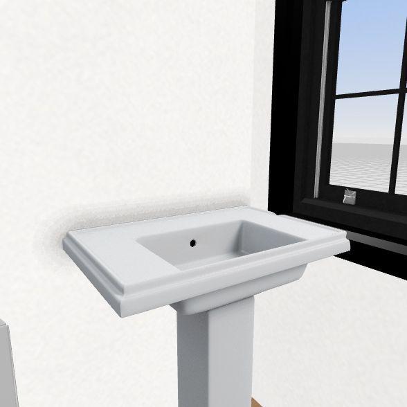 futuristic  Interior Design Render