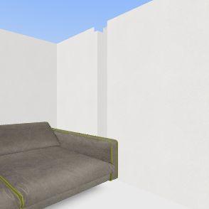 suhaib's floor plan first floor Interior Design Render