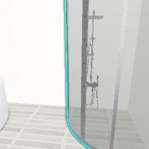 techno Interior Design Render