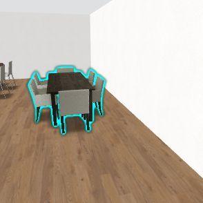 food Interior Design Render