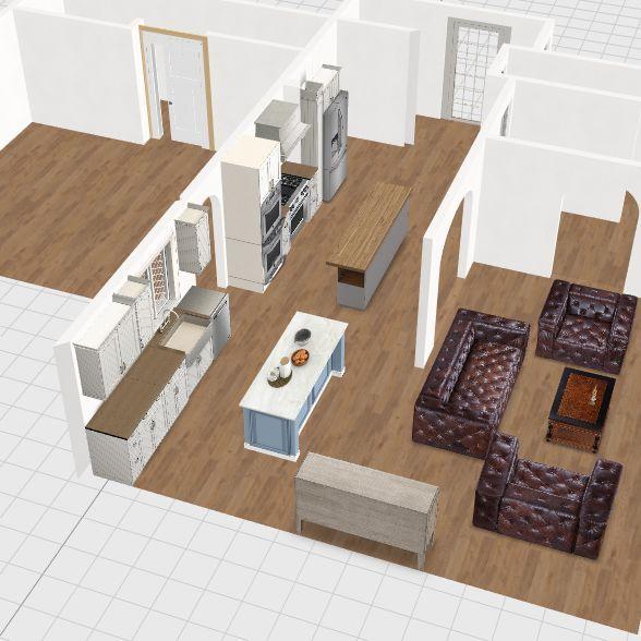 Morgante Kitchen 1 Interior Design Render