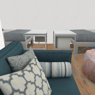 dorms Interior Design Render