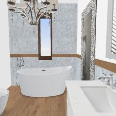 Bagno big  modern3a Interior Design Render