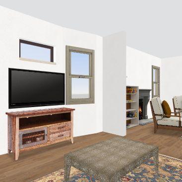 Elizabeth 1st Floor Interior Design Render