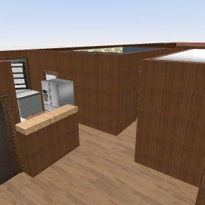 Casa CBA 2 Interior Design Render