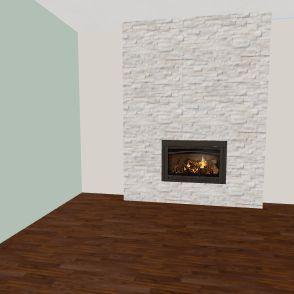 Savelli Living Room Interior Design Render