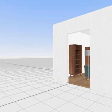 Lakisha's Living Room Interior Design Render