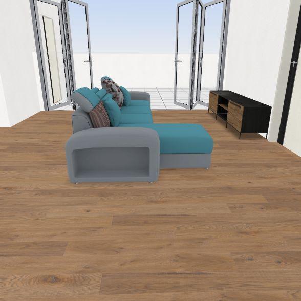 Enc_front_pool Interior Design Render