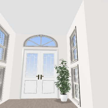 new home Interior Design Render