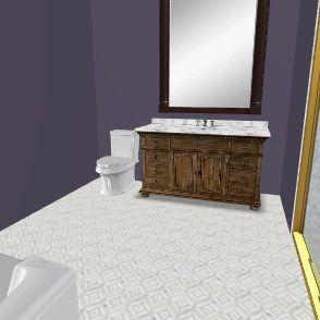 Bathroom Harbor K 5 Interior Design Render