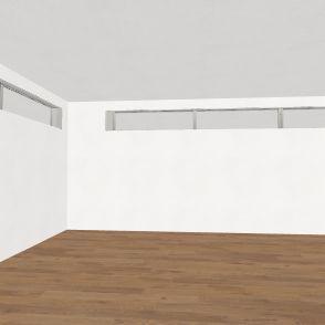 OZ urovne - ateliér + garáž Interior Design Render