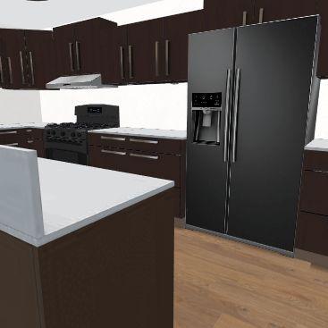 aug basement Interior Design Render