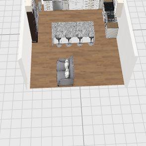 GrahamKitchen Interior Design Render