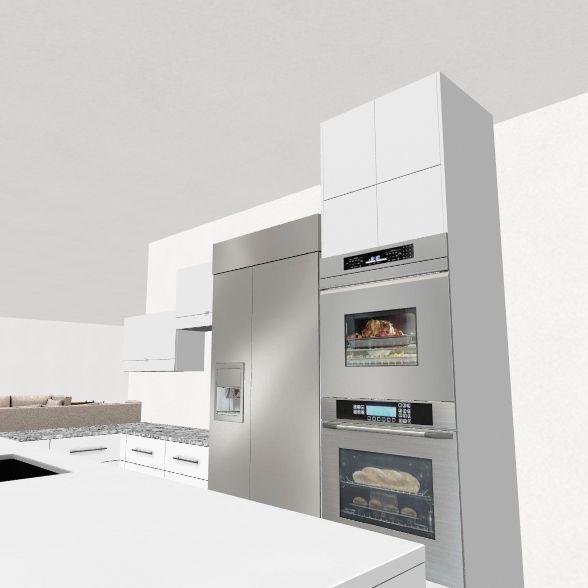 Zubrik Kitchen Design Interior Design Render