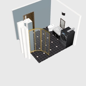 ania_bathroom Interior Design Render