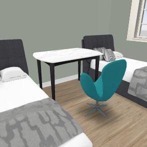3 pok basi stół wyżej na wprost Interior Design Render