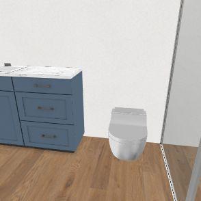 Badeværelse v2 Interior Design Render