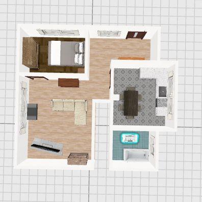 quadrat alt Interior Design Render