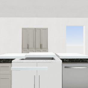 Grier st house w/ no pantry cabinet Interior Design Render