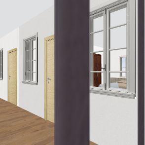 Farm House B Interior Design Render