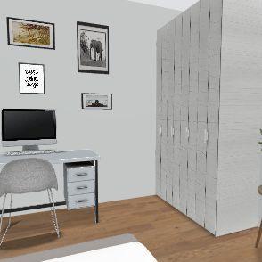 Pokój marcelinki Interior Design Render