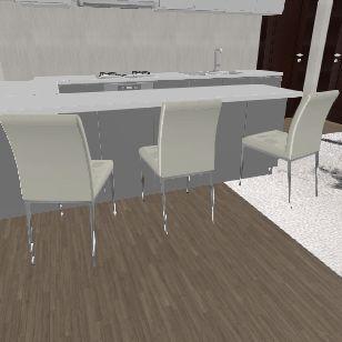 First Modern House Interior Design Render