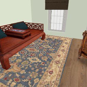 Mod 4 chinoiserie  Interior Design Render