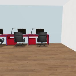 classroom Interior Design Render