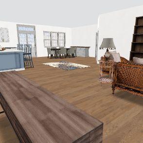 Brad & Jamie's Home Interior Design Render
