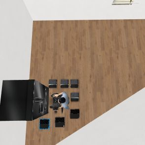 crazy house Interior Design Render