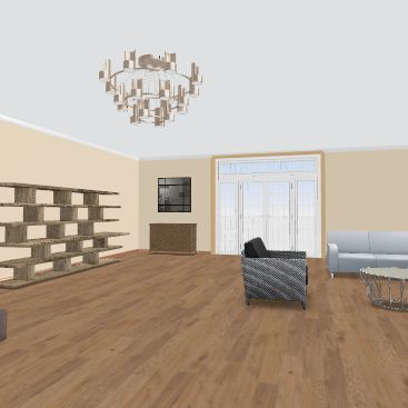 объект №2 Interior Design Render