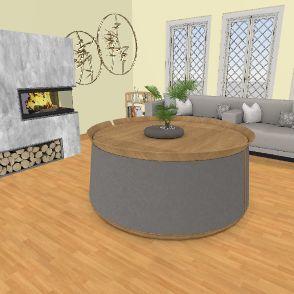 Modern Day home Interior Design Render