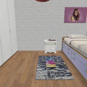 החדר של טליה Interior Design Render