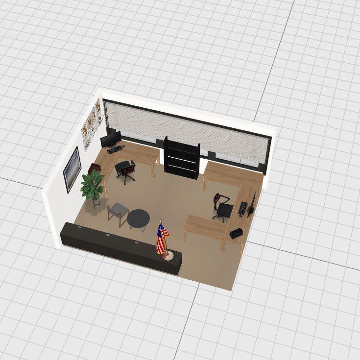 Fiscal Interior Design Render