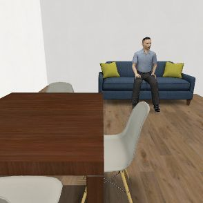 casa mia stufa Interior Design Render