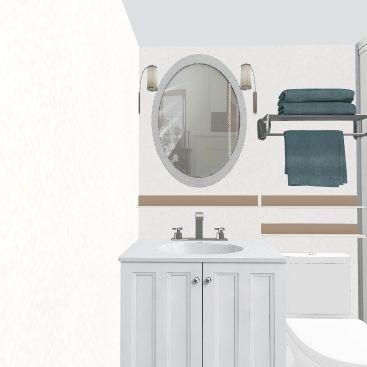 Tiny House Modern Interior Design Render