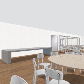 Palazzo de Congressi Riccione 5° Liv. 9 Interior Design Render