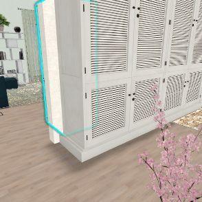 L shaped apartment of 78 Interior Design Render